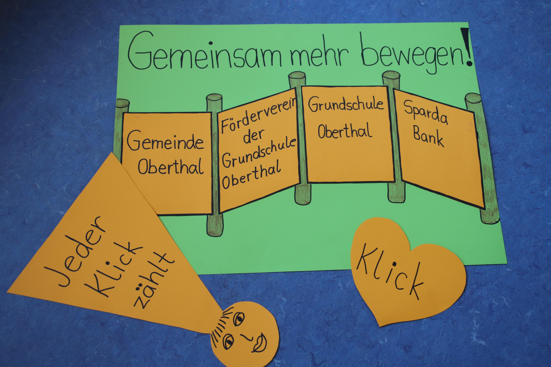 An der Grundschule Oberthal bewegt sich was!